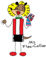 Ms. Flea-Collar by Angelo DeCesare